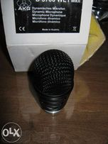Новая голова AKG D3700 WL1 mk2. Shure sm58, Audix, sennheiser, Beta87