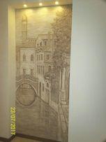 Барельеф. Художественная роспись стен.