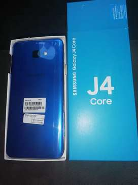 Samsung galaxy j4 core  x2 for sale 1 blue and 1 pink
