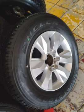 17Inch TOYOTA HILLUX Magrim & Tyre 265/65R17 For SPARE WHEEL On Sale