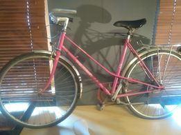 Rower Peugeot Damka Miejski Szosa Różowy Damski Damka