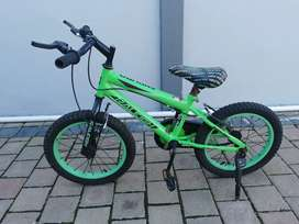 Selling my son's bicycle