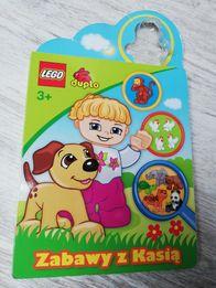 LEGO zabawy z Kasią