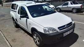 2007 Opel Corsa Bakkie with canopy