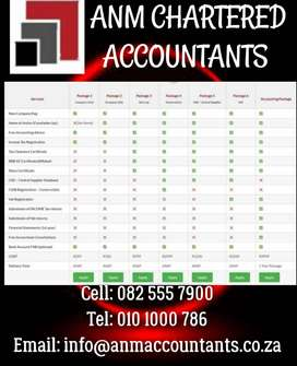 Company Registration R350 Free Tax and Accounting advise