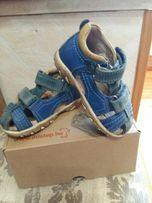 Детская обувь, кожанные босоножки на мальчика, D.D.step, 22 размер