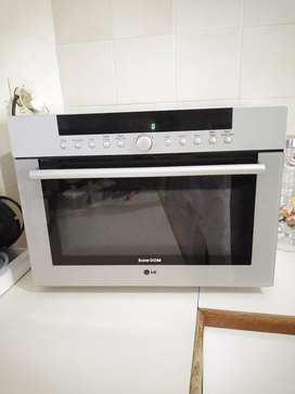 LG Solar Dom Microwave Oven.