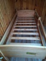 Кровать из натурального дерева (бук) - чердак + матрас ( доп.оплата)