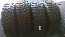 4×265/75/16 BF Goodrich KO2 A/T tyres for sale