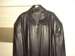 Продам кожаную курточку большого размера