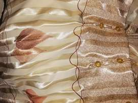 Curtains with voile