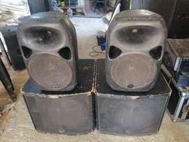 Warfdale bass and tops for sale