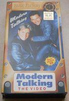 Видеокассета Modern Talking The Video (VHS лицензия)