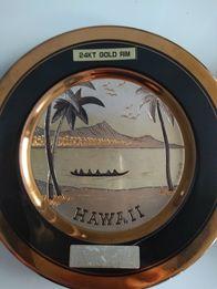 Talerze oryginalne 24KT GOLD