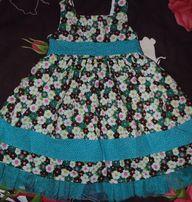 Продам летнее платье для девочки на 24 мес.