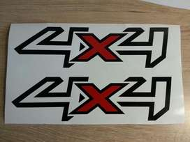 Ford ranger 4X4 side decals