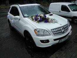 Прокат Авто на свадьбу Аренда Mercedes-Benz ML