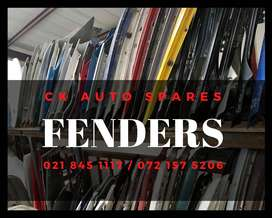 Fenders for sale for most vehicles make and models.
