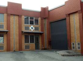 TO LET: 405 SQM INDUSTRIAL WAREHOUSE IN STRYDOMPARK, RANDBURG