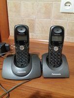 Телефон стаціонарний Panasonic 2шт.нові АКБ
