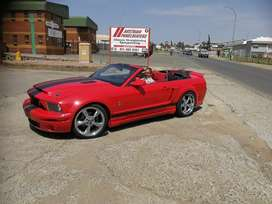 Ford Mustang red Dubai import lhd