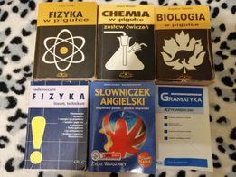 Fizyka, chemia, biologia, angielski, słownik Polsko-angielski