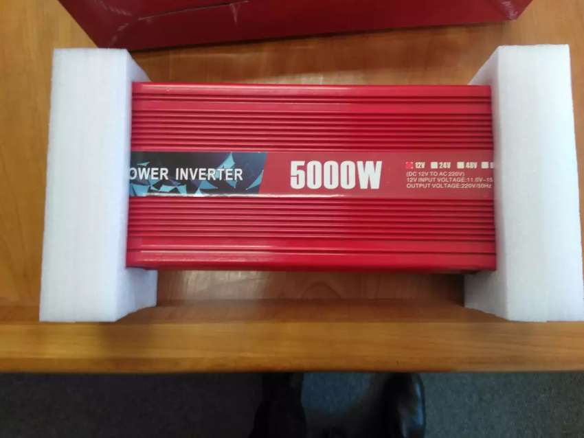 5000W DC 12V to AC 230V Power Inverter (10 000W peak) 0
