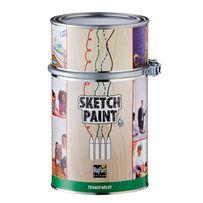 Маркерная краска Sketchpaint прозрачная 1 литр.