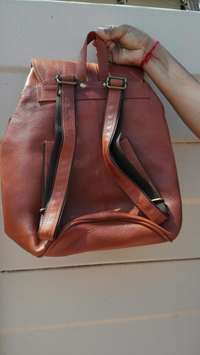 Image of Genuine NDM leather back pack