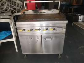 Flat Top Gas Griller for sale