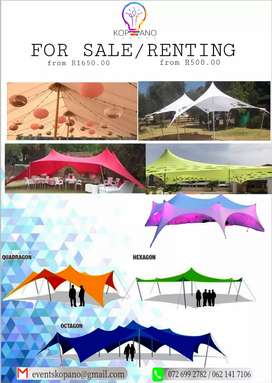 Stretch Tents (Different kinds and Lights)