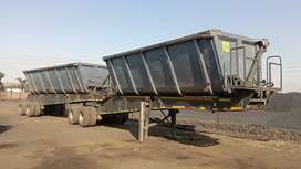 Top trailer - Cargo Freight 45 cube side tipper for Sale