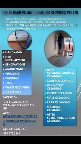 Dee Plumbers and Cleaning services Pty Ltd