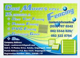 Cool Movers(PTY)Ltd. Fencing