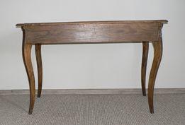 Zabytkowy stół gięte nogi 120x62cm Rabka Kraków