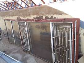 Windows with frames