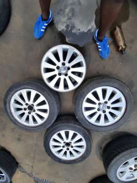 Volvo Mag Rims 5 holes For Sale