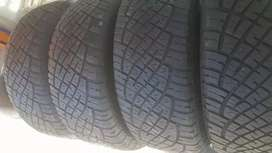 A set of tyres size 255/55/19 General Grabber now available