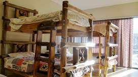Bunk Beds (2 single beds on top of each other)