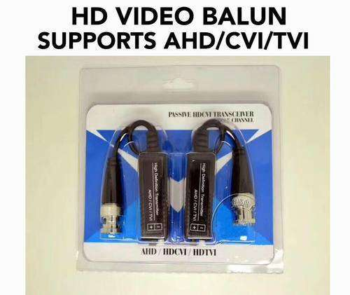 Passive Single Channel Video Balun HD CCTV Twisted Pairs Transmitter 0