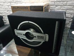 Nowy SUB Woofer BOX AL-600B ALPHARD 600 Watts