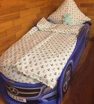 Мерседес Полиция Детская Кровать Машинка Ліжко, (Доставка/Рассрочка)