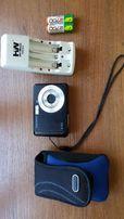 Фотоаппарат Samsung, дешево подарок:карта памяти,зарядное, аккумулятор