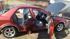 """Mazda Etude 1.6i 2000 Model with aircon, power starring and 15"""" mags"""