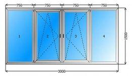Застеклить лоджию 3м металлопластиковые окна 5300 грн Одесса. Гарантия