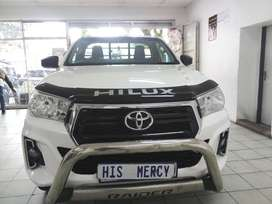 2018 TOYOTA HILUX 2.4 4X4 SINLE CAB MANUAL