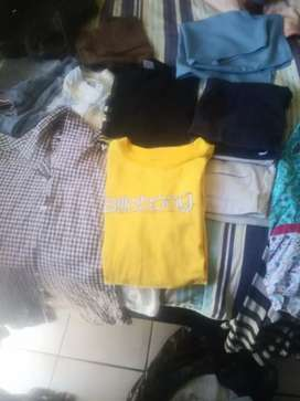 I buy unwanted clean second hand clothes and shoes