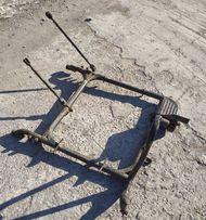 Боковой прицеп коляска Иж. Рама коляски Иж планета Юпитер. Тяги, щечки