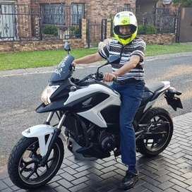 Honda NC750X with 21000kms