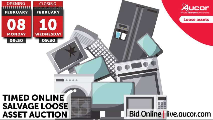 Timed Online Salvage Loose Asset Auction